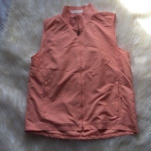 Just in! Izod Peach Zip Vest